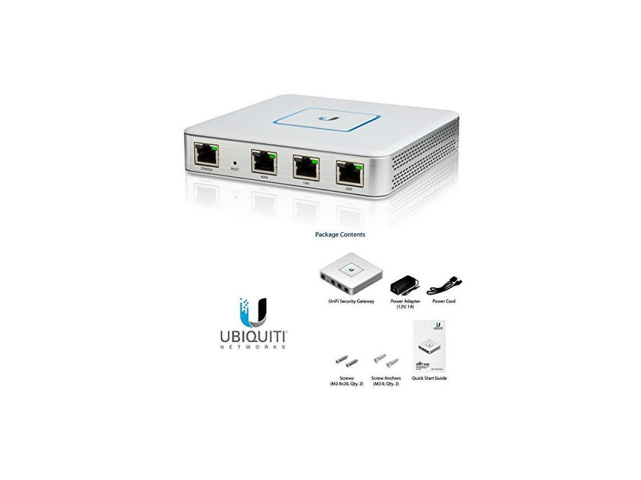 Details about Ubiquiti Networks USG-US Enterprise Gateway Router with  Gigabit Ethernet