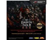 ASUS Motherboard Gift - Dawn of War III