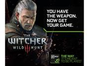 NVIDIA Witcher 3: Wild Hunt GTX Game Bundle