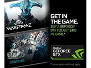 NVIDIA Gift - Warframe and World of Warships