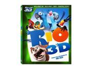 Rio (Four-Disc Blu-ray 3D/ Blu-ray/ DVD/ Digital Copy) (2011) 9SIAA763US8542