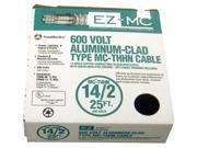 Southwire 68579221 25' 14/2 Type MC Cable Aluminum