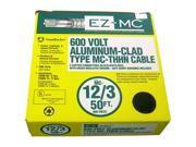 Southwire 68583422 50' 12/3 Type MC Cable Aluminum