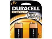 Procter & Gamble                         2 Count 9 Volt Duracell® Coppertop Alkaline Batteries
