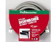 Fluidmaster 1W60CU No-Burst® Fits-All™ Dishwasher Connector California Models
