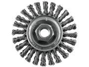 Vermont American 16836 4 Twisted Industrial Wire Wheel