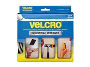 "Velcro 90198 2"" X 15' White Industrial Strength Velcro® Sticky Back® Fasteners"