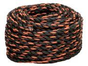 The Lehigh Group TR8100HD 3 8 x 100 Twisted Polypropylene California Truck Rope