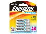 Energizer EA92BP-4 4 Pack AAA Lithium Batteries