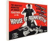 Trademark Fine Art Vintage Apple Collection House of Frankenstein Canvas