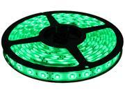 HitLights Non-Waterproof Green SMD3528 LED Light Strip - 300 LEDs, 16.4 Ft Roll, Cut to length - 72 Lumens per foot, Requires 12V DC, IP30