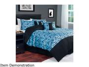 Click here for Lavish Home 7 Piece Victoria Damask Comforter Set... prices