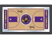 Image of ADG East Carolina University Framed Basketball Court Mirror