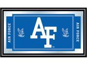 Image of ADG Air Force Falcons Framed Logo and Mascot Mirror