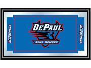 Image of ADG DePaul University Logo and Mascot Framed Mirror
