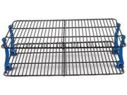 Nordic Ware Stackable Cooling Rack Set Features: If you ever wished for more room in the kitchen, you will love the Nordic Ware Kitchenware Stackable Cooling Rack Set