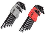 TEKTON  25252  26-pc. Long Arm Hex Key Wrench Set (Inch/Metric)