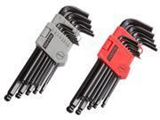 TEKTON  25282  26-pc. Long Arm Ball Hex Key Wrench Set (Inch/Metric)