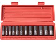 TEKTON  47921  3/8 in. Drive Deep Impact Socket Set (5/16 in.-1 in.) 12 pt. Cr-V