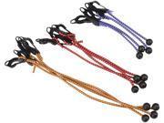 TEKTON 6263 12-pc. Adjustable Ball Anchor/Hook Tarp Bungee Cords