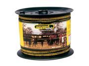 Parker Mccrory 656 Yellow Black High Visibility Electric Fence Tape 00129