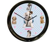 California Clock Co.Headphones Dog Clock 9SIV04Z5JH8100