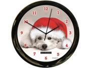 California Clock Co.BW Dog Clock 9SIV04Z5JH9203