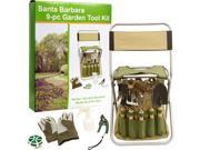 Picnic Pack GTK 1025 Santa Barbara 9 pc Garden Tool Set