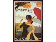 Avranches is a Framed Art Print set with a COVENTRY Black wood frame.<br><br>High-quality printing gives this fine art print its vivid and sharp appearance. Produced on medium weight cover stock, this