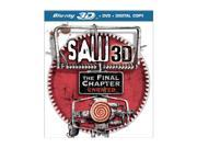 Saw: The Final Chapter (DVD + 3D Blu-ray/WS) Tobin Bell, Cary Elwes, Costas Mandylor, Betsy Russell, Sean Patrick Flanery