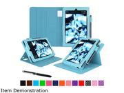 rooCASE Amazon Kindle Fire HD8 (2015) Case - Dual View Pro Folio Smart Cover Stand