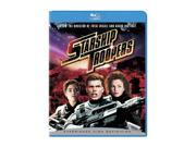 Starship Troopers  (BR / WS 1.85 A / DD 5.1 / ENG-SP-SUB / FR-Both) Denise Richards; Casper Van Dien; Dina Meyer; Jake Busey; Neil Patrick Harris; Clancy Brown; Seth Gilliam; Patrick Muldoon; Michael Ironside; Rue McClanahan Synopsis: From the bridge of the Fleet Battlestation Ticonderoga, with its sweeping galactic views, to the desolate terrain of planet Klendathu, teeming with shrieking, fire-spitting, brain-sucking special effects creatures, acclaimed director Paul Verhoeven crafts a dazzling epic based on Robert A. Heinlein's classic sci-fi adventure. Casper Van Dien, Dina Meyer, Denise Richards, Jake Busey, Neil Patrick Harris, Patrick Muldoon and Michael Ironside star as the courageous soldiers who travel to the distant and desolate Klendathu system for the ultimate showdown between the species. Format: Blu-Ray Color: Color Rating: R RatingReason: graphic sci-fi violence and gore, and for some language and nudity Genre: Science Fiction Runtime: 130 minutes Year: 1997