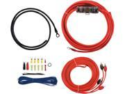 T SPEC V6 RAK8 v6 SERIES Amp Installation Kit with RCA Cables 8 Gauge