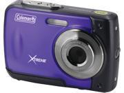 COLEMAN C20WP-P 18.0-Megapixel C20WP Xtreme HD Waterproof Digital Camera (Purple)