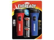 Eveready Battery EVEL152S Flashlight,Led,Econ,2/Pk