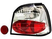 IPCW Tail Lamp CWT-1501C2 93-99 Volkswagen Golf Crystal Clear