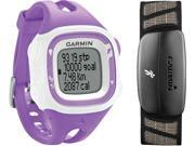 Garmin Forerunner 15 with Heart Rate Violet & White