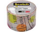 3M Washi Tape 1.18 x393 30mmx10m Travel