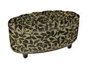 Ora Oval Ottoman Bench