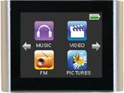 Eclipse V180 SL 8GB MP3 Music And Video Player, Silver