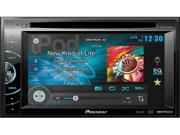 "Pioneer AVH-X1600DVD 2-Din Multimedia DVD Receiver with 6.1"" WVGA Touchscreen Display"
