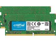 Crucial 16GB (2 x 8G) 260-Pin DDR4 SO-DIMM DDR4 2400 (PC4 19200) Notebook Memory Model CT2K8G4SFD824A