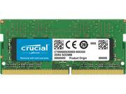 Crucial 16GB 260-Pin DDR4 SO-DIMM DDR4 2400 (PC4 19200) Desktop Memory Model CT16G4SFD824A
