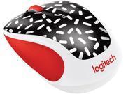 Logitech M325C 910-004753 Memphis Black 5 Buttons Tilt Wheel USB RF Wireless Optical 1000 dpi Party Collection Mouse
