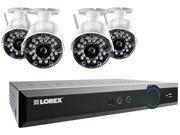 Lorex LH03081TC4W 8 Ch. 960H DVR w/ 1TB HDD, 4 x Wireless Day/Night Outdoor Camera