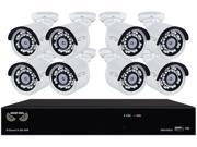 Night Owl 8-Channel, 8-Camera Indoor/Outdoor High-Definition NVR Surveillance System B-4MH5-882