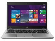 """HP EliteBook Folio 9480M (J5P78UT#ABL) Bilingual Ultrabook - Intel Core i5 4310U (2.00 GHz) 4 GB DDR3 256 GB SSD Intel HD Graphics 4400 14"""" 1366 x 768 720p HD webcam Windows 7 Professional 64-Bit"""