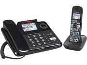 Clarity E814CC Amplified Corded Desk Phone with Answering Machine and Cordless Handset 53727.000
