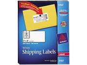 Avery 5163 Shipping Labels with TrueBlock Technology, 2 x 4, White, 1000/Box