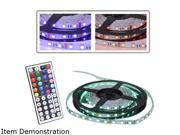 LOGISYS Computer LDXRM196C 12V 16.5' FLIEXIBLE RGB LED STRIP LIGHT KIT